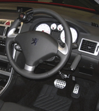 Example of Hand Controls
